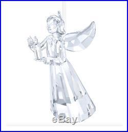 Swarovski Clear Crystal Christmas Ornament ANGEL ORNAMENT 2017 -5269374 New