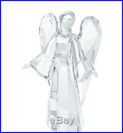 Swarovski Clear Crystal LARGE Christmas Figurine ANGEL SOPHIA #5058741 New
