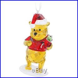 Swarovski Color Crystal Christmas Ornament Disney WINNIE THE POOH #5030561 New