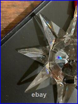 Swarovski Crystal 1991 Christmas Ornament Annual Edition Snowflake European Star