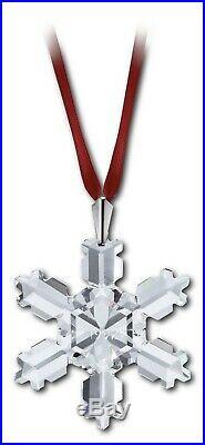 Swarovski Crystal 1992 ANNUAL ORNAMENT LARGE SIZE CHRISTMAS 168690 MIB No Coa