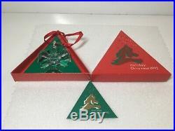 Swarovski Crystal 1992 Annual Christmas Holiday Snowflake Ornament