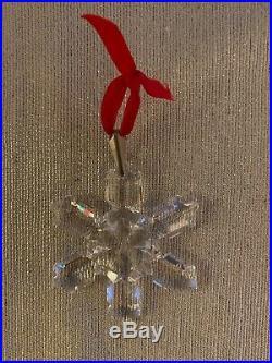 Swarovski Crystal 1992 Annual Christmas Ornament