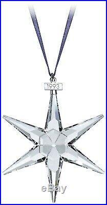 Swarovski Crystal 1993 ANNUAL ORNAMENT LARGE SIZE CHRISTMAS 174969 NEW MIB