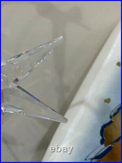 Swarovski Crystal 1993 Annual Edition Christmas Ornament Snowflake 9445 930 001
