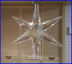 Swarovski Crystal 1993 Annual Star Edition Christmas Xmas Holiday Ornament
