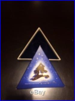 Swarovski Crystal 1994 Annual Christmas Ornament Snowflake Star in Box