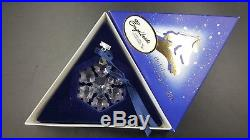 Swarovski Crystal 1994 Annual Christmas Ornament Star Snowflake