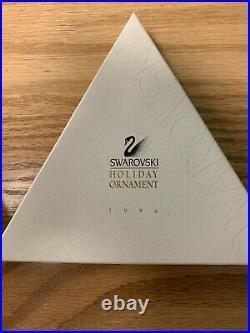Swarovski Crystal 1996 Annual Christmas Snowflake Ornament with Original Box