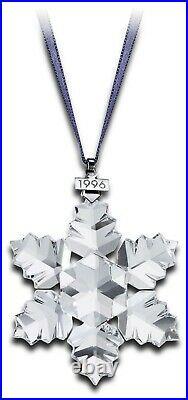 Swarovski Crystal 1996 Annual Edition Christmas Ornament Snowflake 199734 MIB