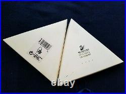 Swarovski Crystal 1996 Annual Edition Christmas Ornament Snowflake With Box