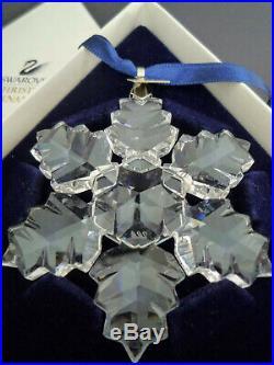 Swarovski Crystal 1996 Christmas Holiday Ornament Decoration in Box, 199734