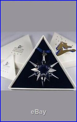 Swarovski Crystal 1997 ANNUAL CHRISTMAS ORNAMENT 211987 NEW MIB