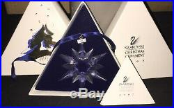 Swarovski Crystal 1997 Annual Christmas Ornament Snowflake