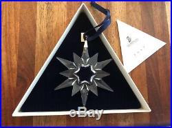 Swarovski Crystal 1997 Annual Christmas Ornament Star MIB