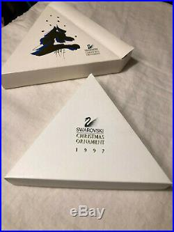 Swarovski Crystal 1997 Annual Christmas Ornament Star Perfect And Complete