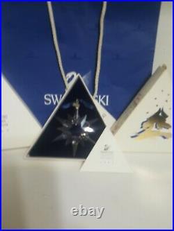 Swarovski Crystal 1997 Annual Christmas Ornament Star Snowflake