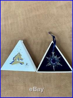 Swarovski Crystal 1997 Annual Christmas Ornament Star With Box