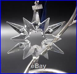 Swarovski Crystal 1997 Annual Star Snowflake Christmas Ornament Mint