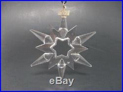 Swarovski Crystal 1997 Christmas Ornament