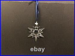 Swarovski Crystal 1997 Large Annual Snowflake Star Christmas Ornament