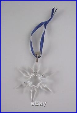 Swarovski Crystal 1997-SNOWFLAKE Annual Christmas Ornament with Box & COA