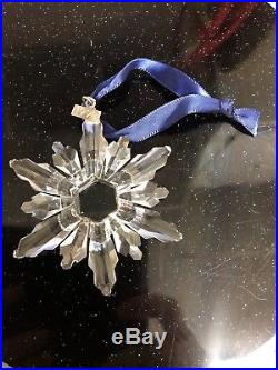 Swarovski Crystal 1998 Annual Christmas Holiday Snowflake Ornament