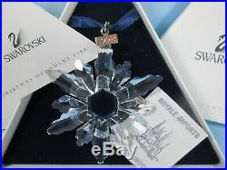Swarovski Crystal 1998 Annual Christmas Ornament Snowflake Star Box Certificate