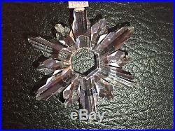 Swarovski Crystal, 1998 Annual Christmas Snowflake Ornament, NO BOX