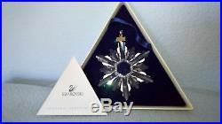 Swarovski Crystal 1998 Christmas Ornament with Original Box