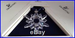 Swarovski Crystal, 1998 Large Clear Christmas Star Ornament. Art No 220073