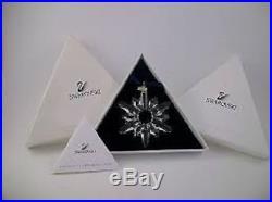 Swarovski Crystal 1998 Ornament Complete with Original & Cert-Christmas