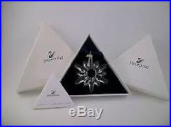 Swarovski Crystal 1998 Ornament Complete with Original & Cert-Christmas