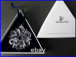 Swarovski Crystal 1999 ANNUAL STAR ORNAMENT Mint Condition & Boxed-Christmas