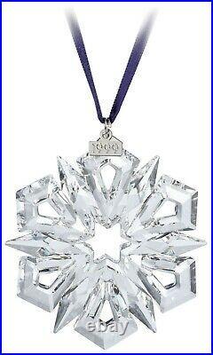 Swarovski Crystal 1999 Annual Edition Christmas Ornament Snowflake 235913 MIB