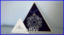 Swarovski Crystal 1999 Christmas Ornament with Original Box