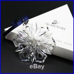 Swarovski Crystal 1999 Snowflake Christmas Ornament MIB