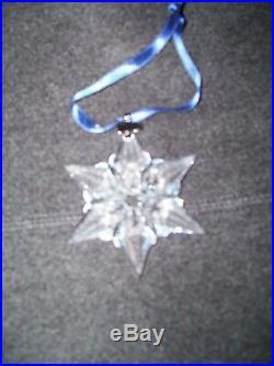 Swarovski Crystal 2000 Annual Christmas Ornament
