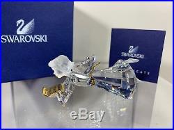 Swarovski Crystal 2000 Annual Edition Angel Christmas Ornament 904989 MIB WithCOA