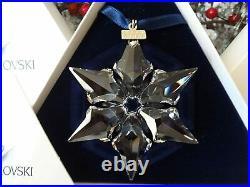 Swarovski Crystal 2000 Annual Edition Christmas Ornament Snowflake 243452 MIB