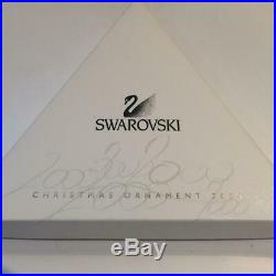 Swarovski Crystal 2000 Christmas Tree Ornament Mint In Box + Certificate E4164
