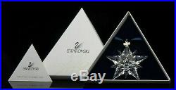 Swarovski Crystal 2001 ANNUAL ORNAMENT LARGE SIZE CHRISTMAS 267941 NEW MIB