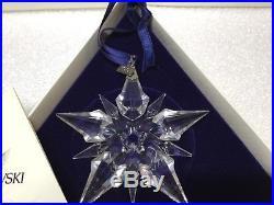 Swarovski Crystal 2001 Annual Christmas Holiday Snowflake Ornament