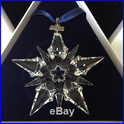 Swarovski Crystal 2001 Annual Snowflake Christmas Ornament Mib