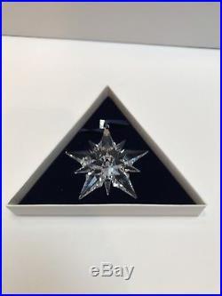 Swarovski Crystal 2001 Annual Star Christmas Ornament with Box