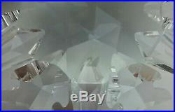 Swarovski Crystal 2002 Annual Christmas Ornament Star Snowflake w Swan no box