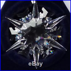 Swarovski Crystal 2002 Annual Snowflake Star Xmas Tree Ornament with Tag MIB