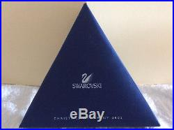 Swarovski Crystal 2002 Snowflake Annual Edition Holiday Xmas Ornament preowned