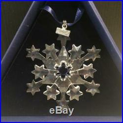Swarovski Crystal 2004 Christmas Tree Ornament Mint In Box + Certificate E4168
