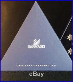 Swarovski Crystal 2004 Snowflake Annual Holiday Christmas Ornament